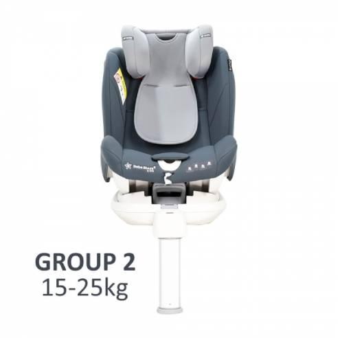 Avtosedež Apex 360 ° Isofix 0+/1/2/3 (0-36 kg) siva