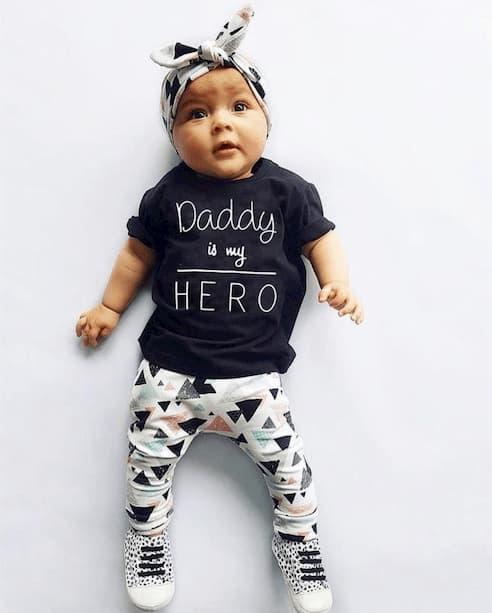 oblačila za otroke, dojenčke deklice, komplet