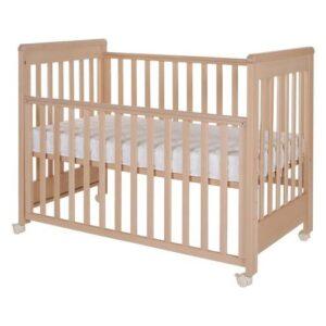 Otroška posteljica 60 x 120 cm natur, Treppy