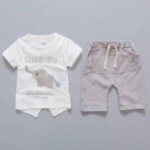oblačila za otroke, dojenčke, fante, deklice kratke hlače in majčka