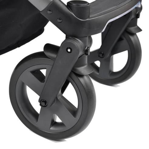 Otroški voziček X-lander Pulse 2v1 Morning grey, gumirana kolesa