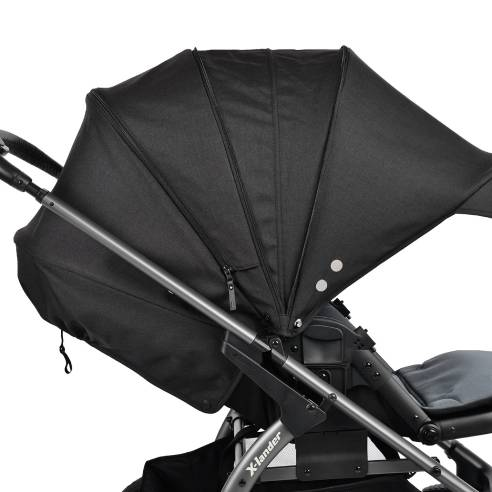 Otroški voziček X-lander Move 2v1 Lunar black