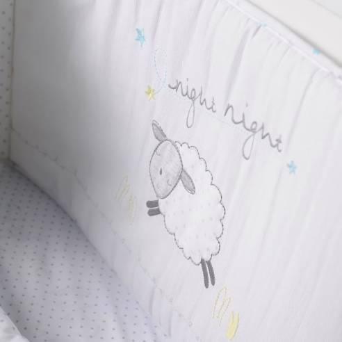 Otroška posteljnina 3 delna Silvercloud