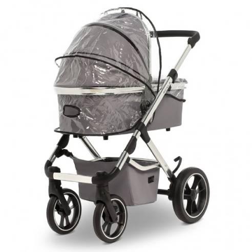Otroški voziček Moon Scala Stone Grey