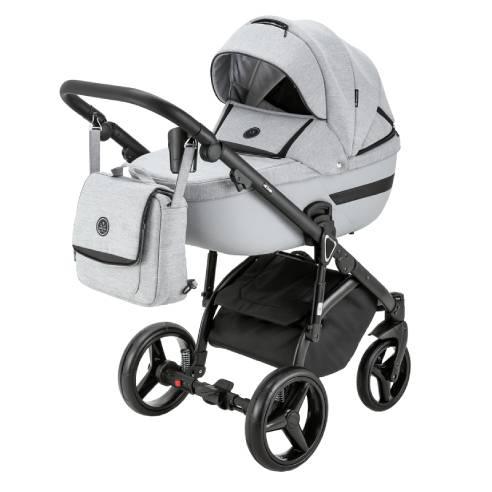 Otroški voziček Adamex Cortina, globoka košara
