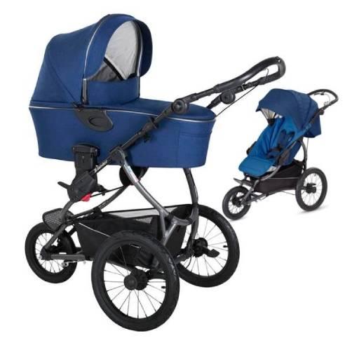 Otroški voziček X-lander Run 2v1 Night blue