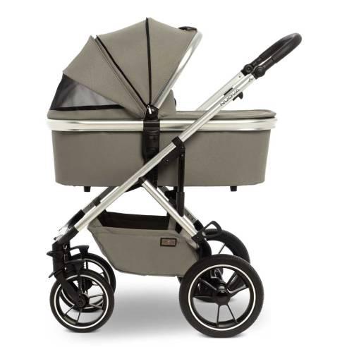 Otroški voziček Moon Nuova City 2v1 taupe
