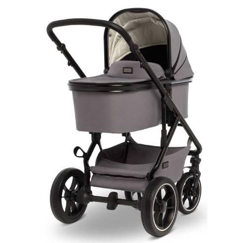 Otroški voziček Moon Nuova City 2v1, Stone gray