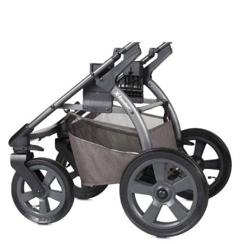 Otroški voziček X-lander Move 2v1 Evening grey