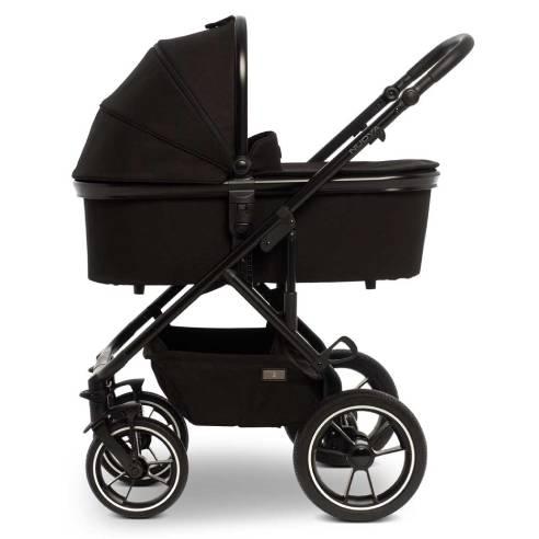 Otroški voziček Moon Nuova City 2v1, Black