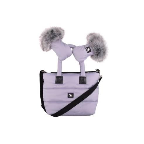 Torba Cottonmoose gray za otroški voziček