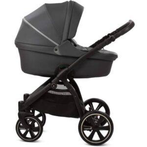 Otroški voziček Noordi Fjordi Leather 2v1 shadow grey