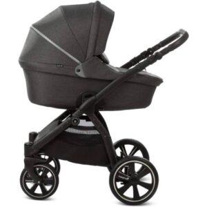 otroški voziček Noordi Fjordi 2v1 black