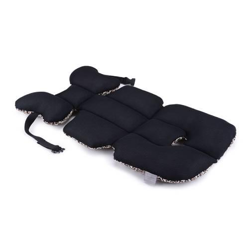 Poletna podloga panter rjava za otroški voziček, otroški avtosedež
