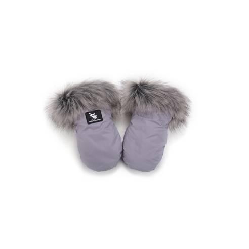 Rokavice Cottonmoose grey za otroški voziček