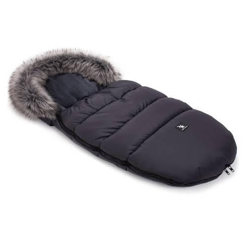 Zimska vreča Cottonmoose graphite, otroška zimska vreča za otroški voziček