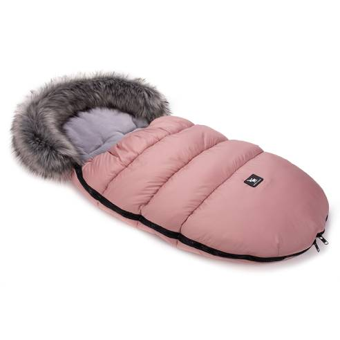 Zimska vreča Cottonmoose pink, otroška zimska vreča za otroški voziček