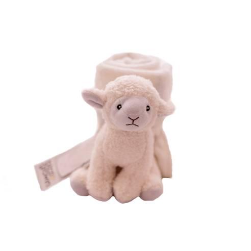 Odeja in ninica Bizzi Growin in igračka ovčka