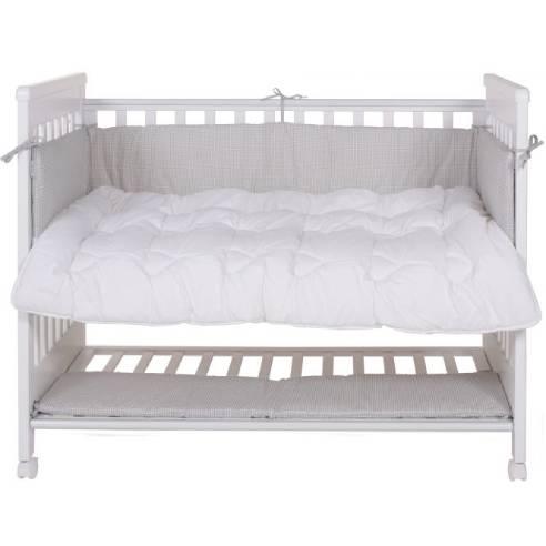 Obroba za otroško posteljico 120×60cm
