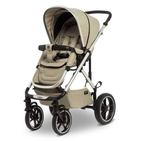Otroški voziček Moon Nuova City 2v1 Moss Grey
