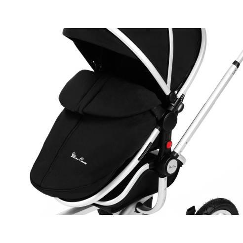 Zimska vreča, Silver Cross black, otroški voziček