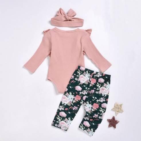 oblačila za otroke, dojenčke deklice bodi dolgi rokav, dolge hlače