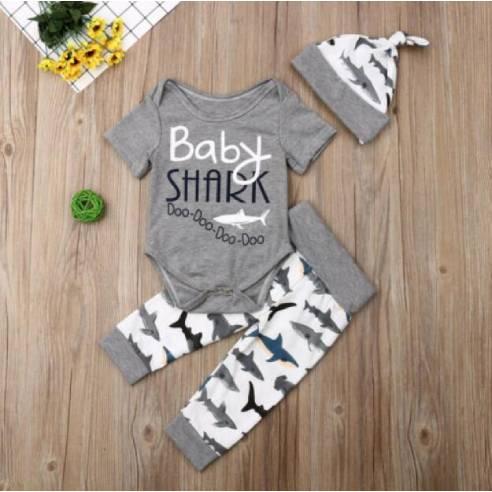 oblačila za otroke, dojenčke, fante, deklice komplet bodi, hlače, kapa
