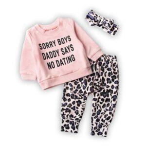 oblačila za otroke, dojenčke deklice pulover in hlače