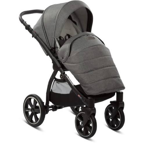 otroški voziček Noordi Fjordi 2v1 dark grey