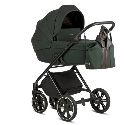 Otroški voziček Noordi Luno 2v1 forest green