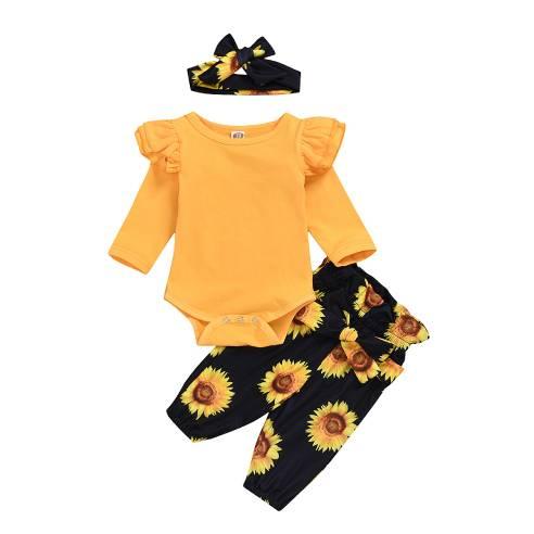 oblačila za otroke, dojenčke deklice bodi, hlače, trak, bombaž