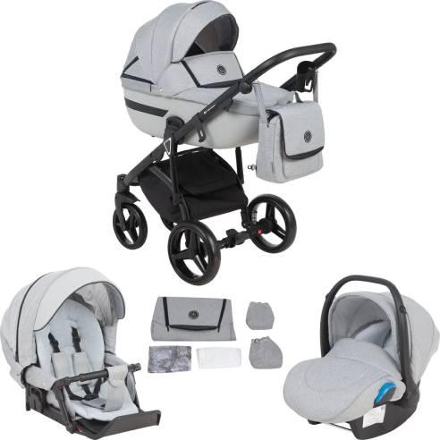 Otroški voziček Adamex Cortina 3v1