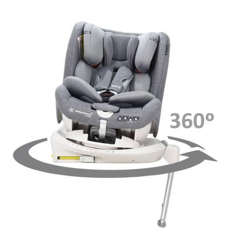Avtosedež Apex 360 ° Isofix 0+/1/2/3 (0-36 kg) Siva, otroški avtosedež