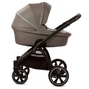 Otroški voziček Noordi Fjordi Leather 2v1 graphite
