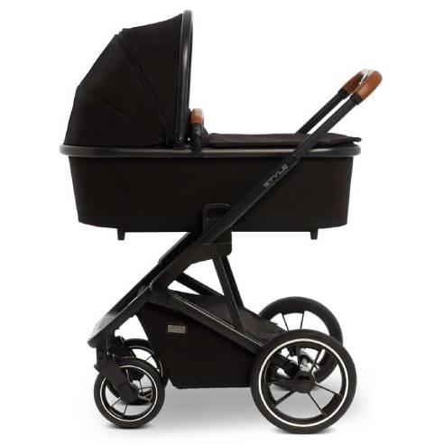Otroški voziček Moon Style 2v1 black