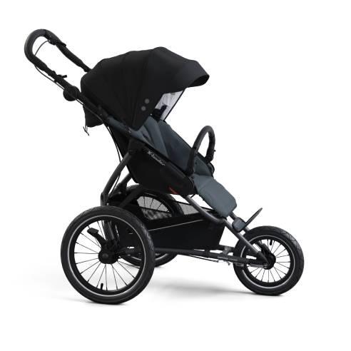Otroški voziček trikolesnik X-lander Run 2v1 Astral black