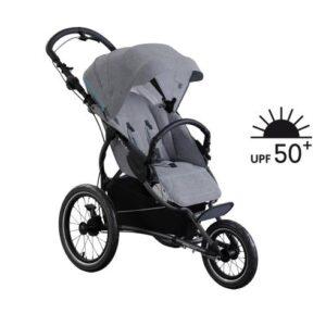Otroški voziček trikolesnik X-lander Run 2v1 Azure grey