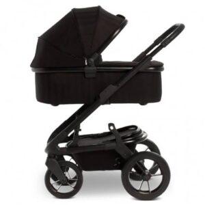 Otroški voziček Moon Solitaire 2v1 Black