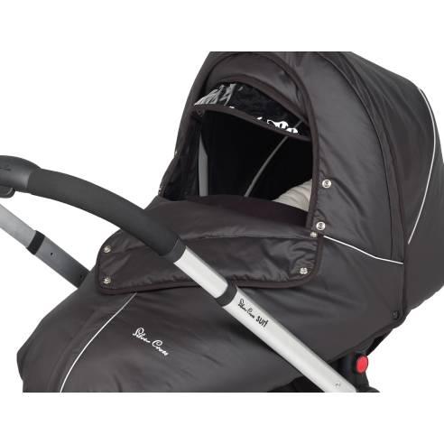 Zimski paket Silver Cross SURF black otroški voziček