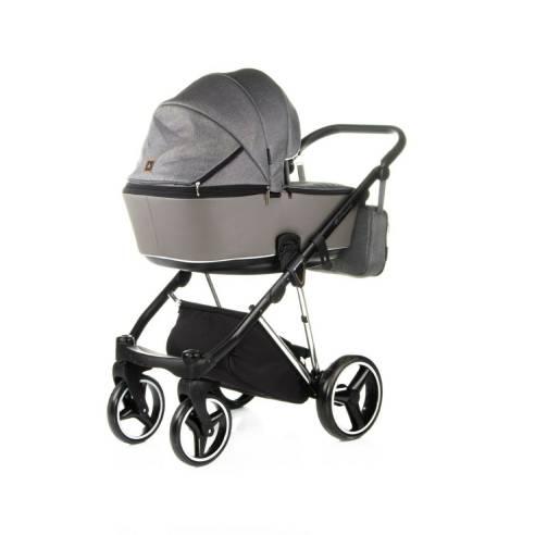 Otroški voziček Adamex Cristiano Special edition Sv. siva 03