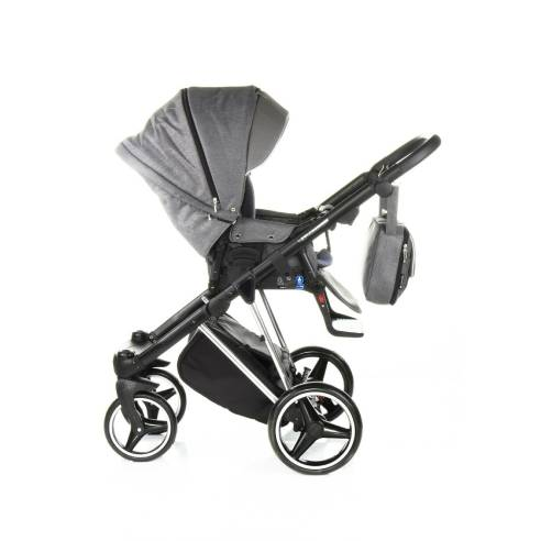 Otroški voziček Adamex Cristiano Special edition Sv. siva 05