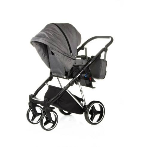 Otroški voziček Adamex Cristiano Special edition Sv. siva 06