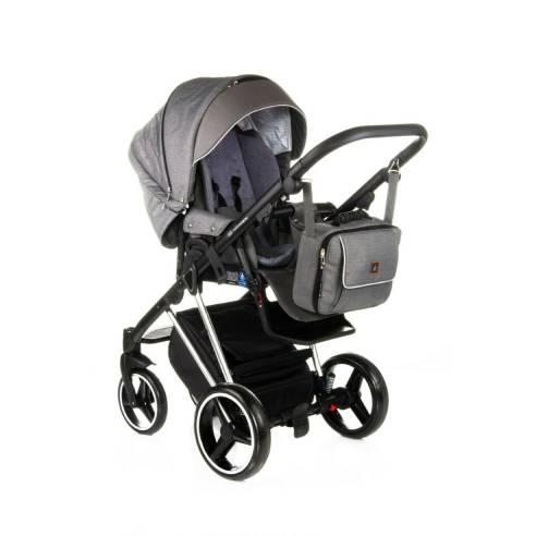 Otroški voziček Adamex Cristiano Special edition Sv. siva 07