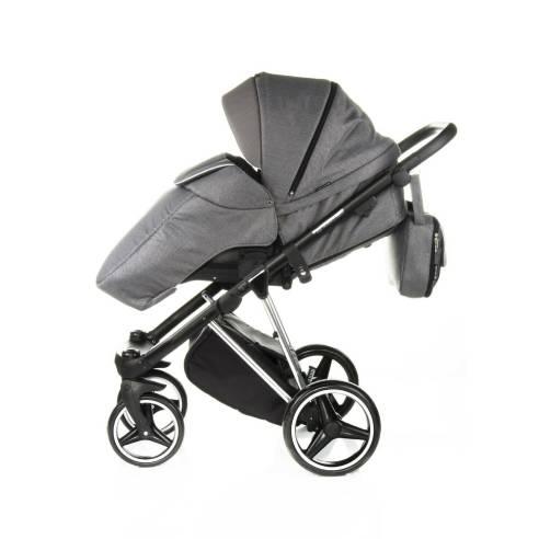 Otroški voziček Adamex Cristiano Special edition Sv. siva 09