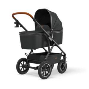 Otroški voziček Moon Nuova Air black 01