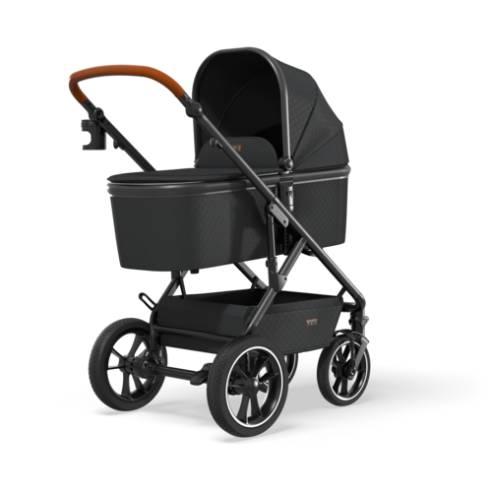 Otroški voziček Moon Nuova black 01