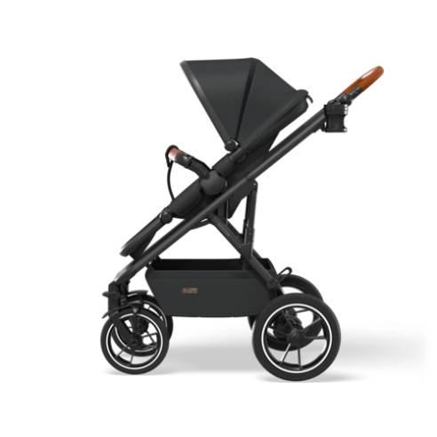 Otroški voziček Moon Nuova black 10
