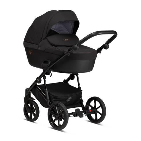 Otroški voziček Tutis Viva Life 070 Caviar 03