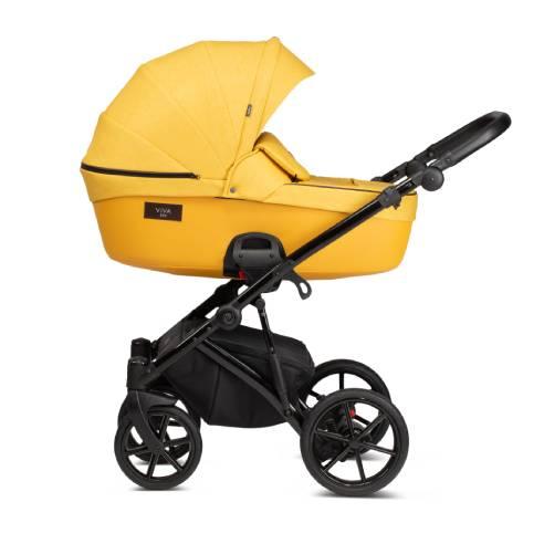 Otroški voziček Tutis Viva Life 075 Yolk Yellow 03