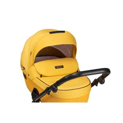 Otroški voziček Tutis Viva Life 075 Yolk Yellow globoka košara